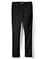 Women's Petite No-fade Black Jeans, Mid Rise Straight Leg