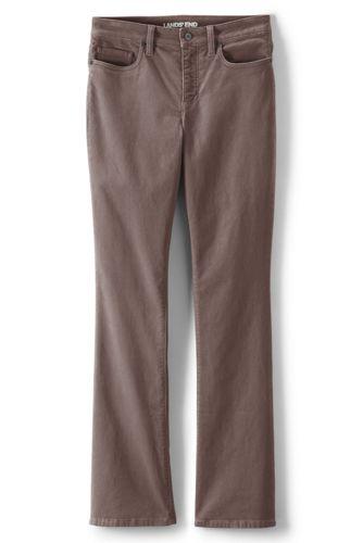 2e75c60d207 Women's Mid Rise Bootcut Cord Jeans | Lands' End