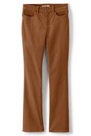 Women's Mid Rise Corduroy Bootcut Pants