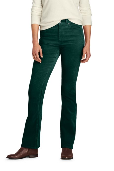 Women's Tall Mid Rise Corduroy Bootcut Pants