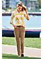 Mittelhohe Straight Fit Cordjeans für Damen in Plus-Größe