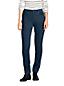Le Pantalon Droit en Velours Côtelé Stretch Taille Mi-Haute, Femme Grande Taille
