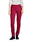 Le Pantalon Droit en Velours Côtelé Stretch Taille Mi-Haute, Femme Stature Standard