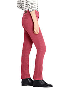 Women's Mid Rise Straight Leg Corduroy Pants, Unknown