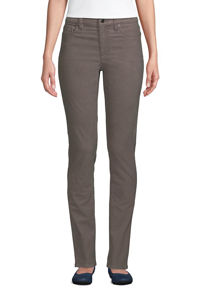 Women's Mid Rise Straight Leg Corduroy Pants