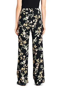 Women's Crepe Tailored Pants, Back