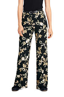 Women's Crepe Tailored Pants, Front