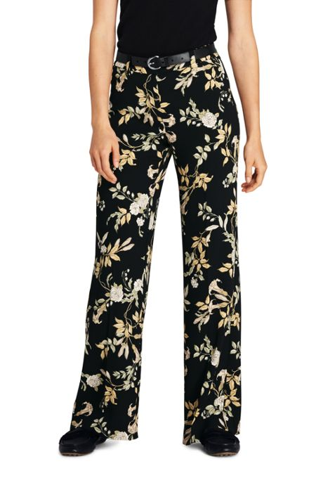 Women's Crepe Tailored Pants