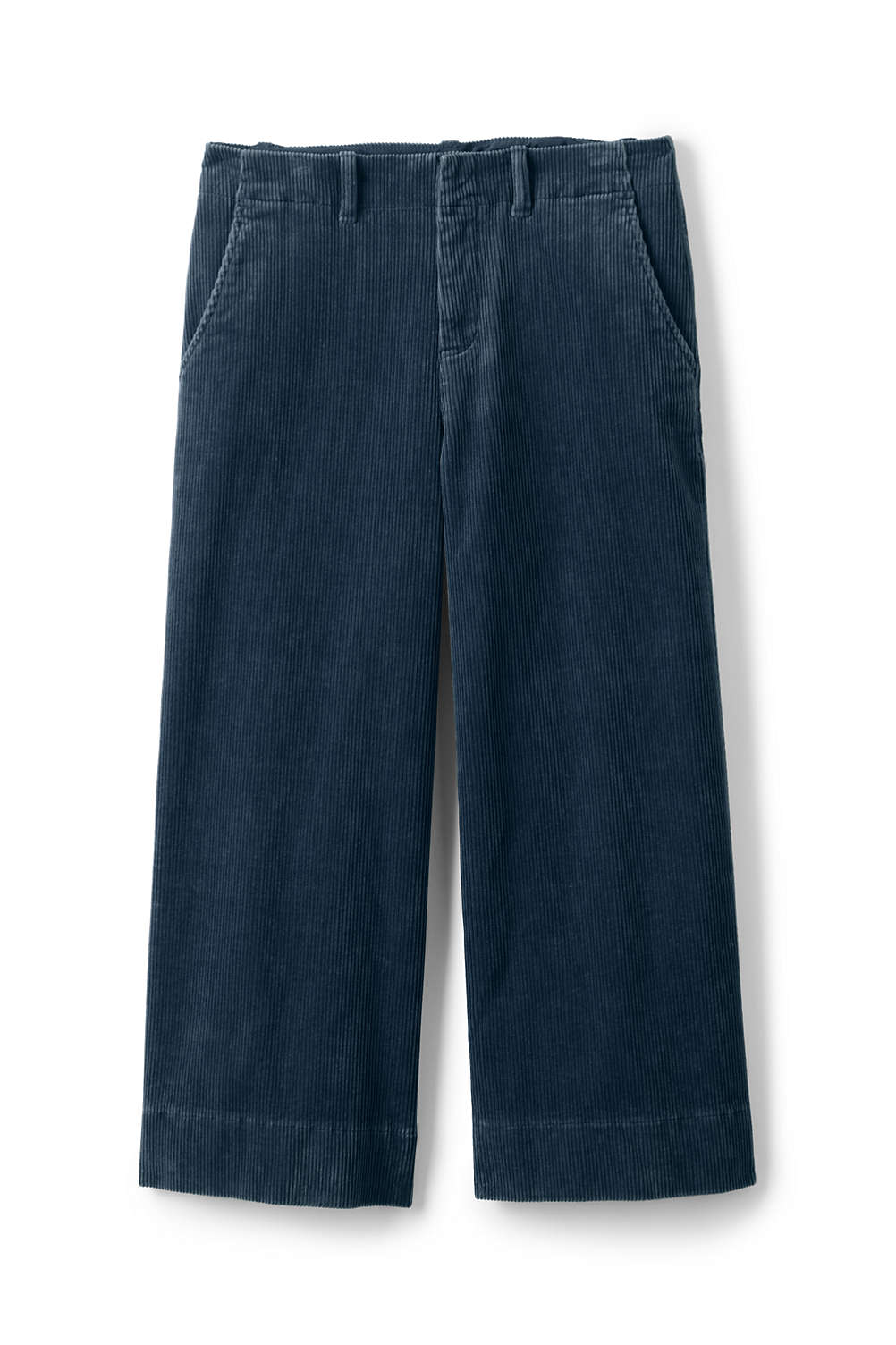 b276f07103d Women s Plus Size Wide Wale Corduroy Crop Pants from Lands  End