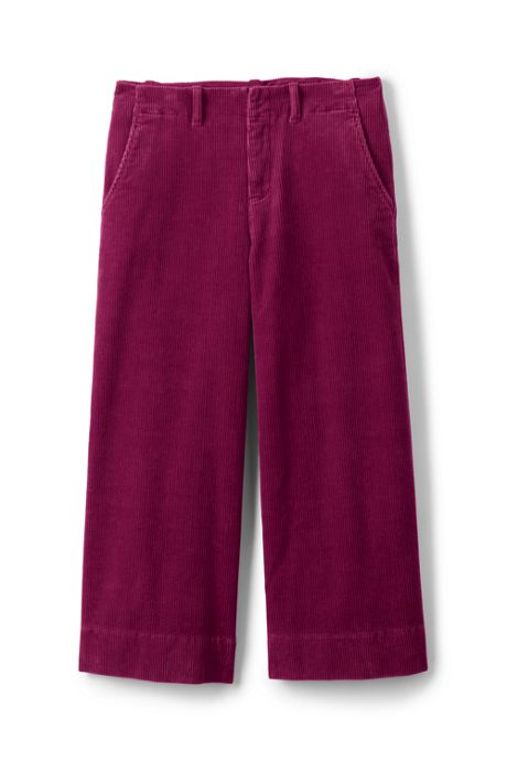 Women's Tall Wide Wale Corduroy Crop Pants