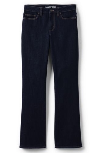 Women's Petite Mid Rise Stretch Bootcut Jeans