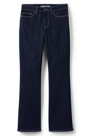 8d918f8b119 Women's Mid Rise Stretch Bootcut Jeans | Lands' End