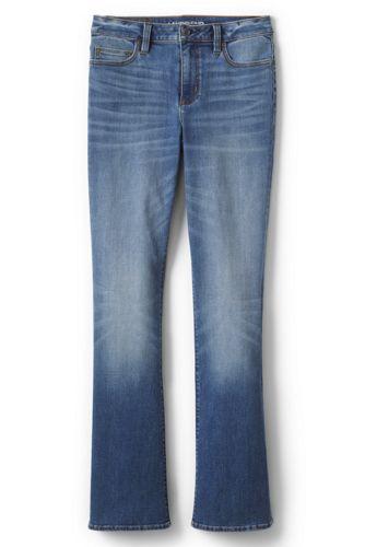 Women's Petite Mid Rise Bootcut Jeans
