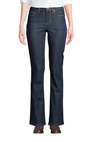 Women's Mid Rise Bootcut Blue Jeans