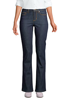Women's Mid Rise Stretch Bootcut Jeans