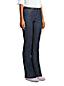 Le Jean Bootcut Stretch Indigo Taille Mi-Haute, Femme Stature Petite