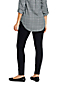 Women's Petite Mid Rise Pull-on Legging Jeans, Black