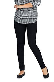 Le Jegging Noir Taille Mi-Haute, Femme
