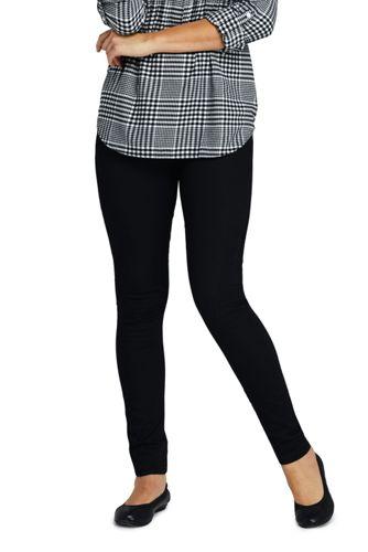 Le Jegging Noir Taille Mi-Haute, Femme Stature Petite