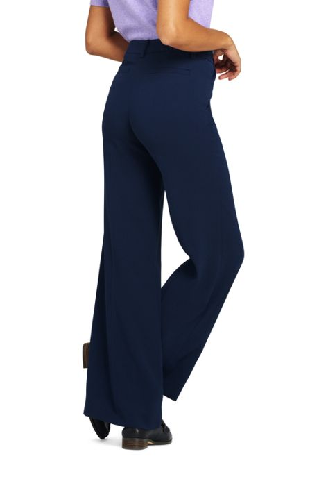 Women's Crepe Tailored Pants