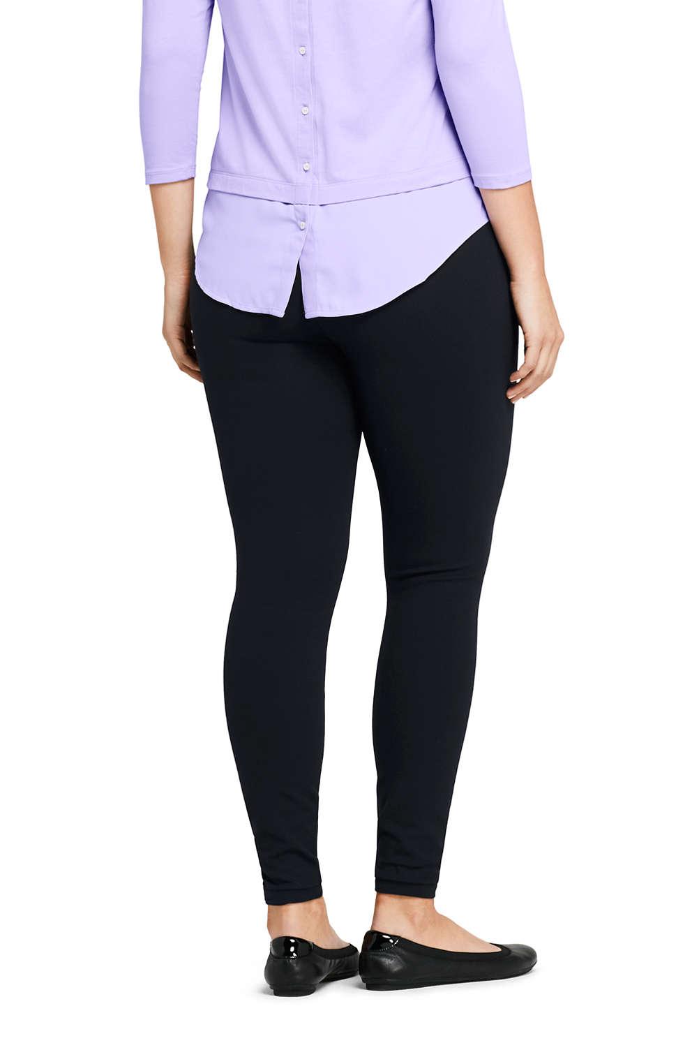 1d1662564d7 Women s Plus Size Ponte Seamless Leggings from Lands  End