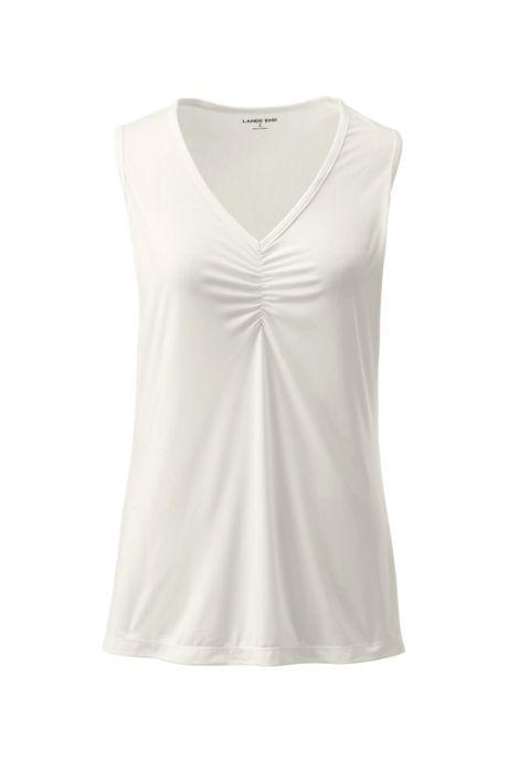 Women's Plus Size Thermaskin Heat Base Layer V-neck Tank