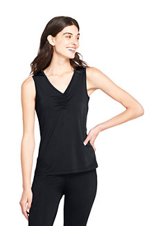 Women's Thermaskin Heat V-neck Vest Top