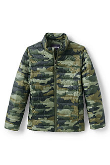 Kids' Packable Patterned Thermoplume Jacket