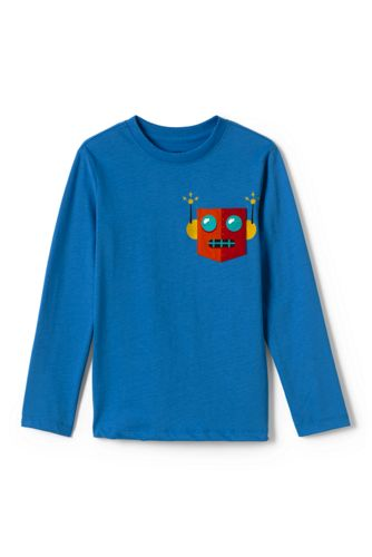 Little Boys' Pocket Graphic Tee