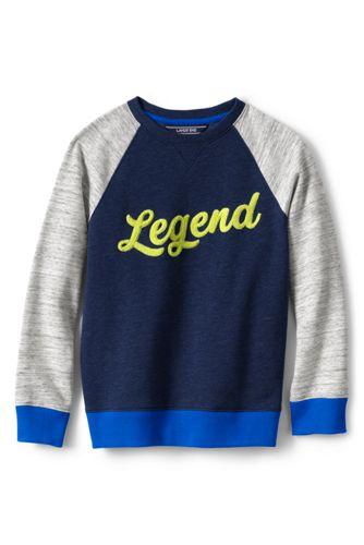 Le Sweatshirt Graphique et Blocs de Couleurs, Enfant