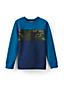Boys' Sweatshirt with Chest Stripe
