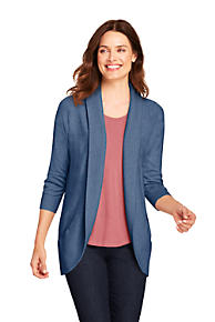 5c9c6ad2a8ab0 Women's 3/4 Sleeve Cocoon Cardigan Sweater