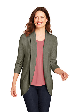 lands end strickjacke dame