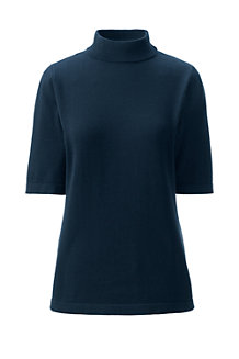 Women's Supima High Neck Jumper
