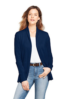 Women's Open Cotton Cardigan