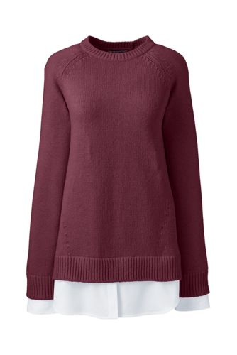 Women's 2-in-1 Tunic Jumper