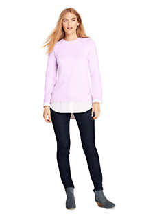 Women's Lofty Blend-Woven Tunic Sweater, Unknown