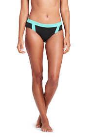 Women's Banded Mid Waist Bikini Bottoms