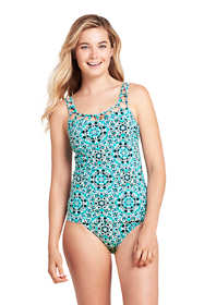 Women's Lattice V-neck Tankini Top