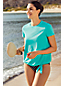 Gemusterte Bikinihose BEACH LIVING für Damen