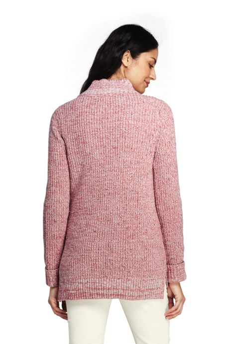 Women's Tall Lofty Blend Quarter-Zip Mock Tunic Sweater