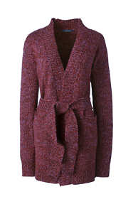 Women's Tall Lofty Blend Tie Cardigan Sweater