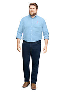 Mens Big and Tall Traditional Fit Comfort-First Jeans, alternative image