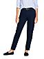Le Jean Fuselé 7/8 Taille Mi-Haute, Femme Stature Standard