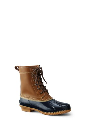 Women's Unlined Duck Boots by Lands' End