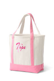 Pink Thread Medium Open Top Canvas Tote Bag
