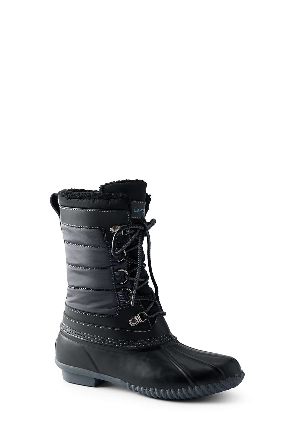 33ddb00f5 Women's Lined Winter Duck Boots from Lands' End