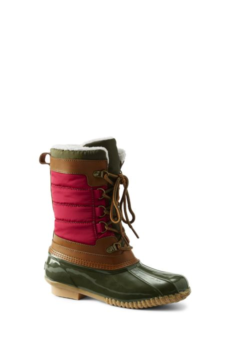 Women's Lined Winter Duck Boots