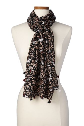 Women's Floral Scarf