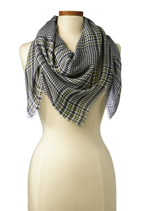 Women's Glen Plaid Scarf